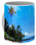 Landscape Nature Drawing Coffee Mug