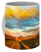 Landscape Drawing Nature Coffee Mug