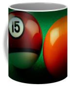 15 And 5 Billiards Coffee Mug