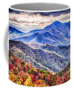 Autumn Season On Blue Ridge Parkway Coffee Mug