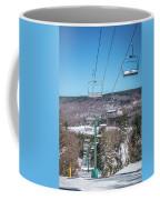 Beautiful Nature And Scenery Around Snowshoe Ski Resort In Cass  Coffee Mug