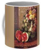 bs- George Henry Hall- Still Life George Henry Hall Coffee Mug
