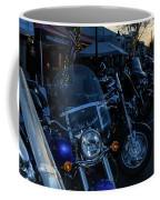 Motorcycles On Main Coffee Mug
