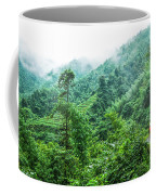 Mountain Scenery In Mist Coffee Mug