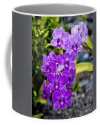 Orchids Kauai Coffee Mug