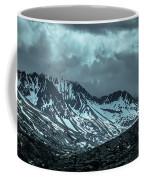 Rocky Mountains Nature Scenes On Alaska British Columbia Border Coffee Mug