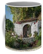 Street In Berat Old Town In Albania Coffee Mug