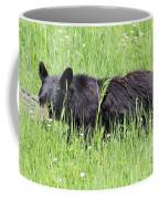 American Black Bear Yellowstone Usa Coffee Mug