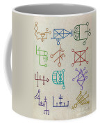 Cabbalistic Signs And Sigils, 18th Coffee Mug