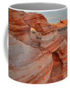 First Light On Valley Of Fire Coffee Mug