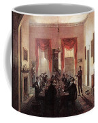 Jlm-1820-henry Sargent-the Dinner Party Henry Sargent Coffee Mug