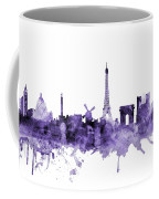Paris France Skyline Coffee Mug