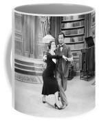 Silent Film Still: Dancing Coffee Mug by Granger