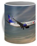 Travel Service Boeing 737-8cx Coffee Mug