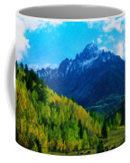 Nature Original Landscape Painting Coffee Mug