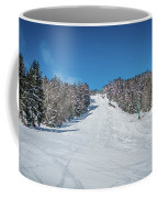 Beautiful Nature And Scenery Around Snowshoe Ski Resort In Cass  Coffee Mug