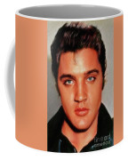 Elvis Presley, Rock And Roll Legend Coffee Mug