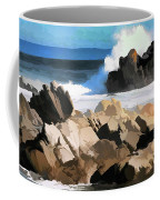 17 Mile Drive Pacific Ocean  Coffee Mug