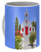 Mykonos Coffee Mug by Joana Kruse