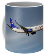 Travel Service Boeing 737-8cx Coffee Mug