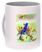 1795 - Blue Grosbeak Coffee Mug