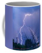 17th Street Lightning Strike Fine Art Photo Coffee Mug