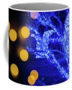 Christmas Season Decorations And Lights At Gardens Coffee Mug