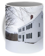1800 White Colonial Home Coffee Mug