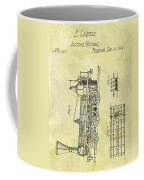 1845 Locomotive Patent Coffee Mug