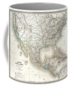 1858 Dufour Map Of The United States  Coffee Mug