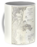 1859 U.s. Coast Survey Map Of Lynn Harbor, Massachusetts Coffee Mug