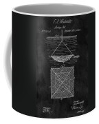 1869 Fishnet Patent Coffee Mug