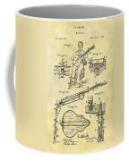 1873 Guitar Patent Coffee Mug