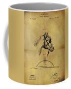 1874 Horse Blinder Patent Coffee Mug