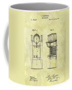 1876 Beer Cooler Patent Coffee Mug