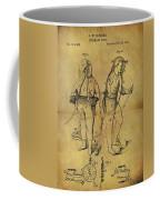 1876 Fireman's Suit Coffee Mug