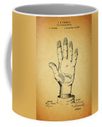 1878 Corn Husking Glove Patent Coffee Mug