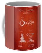 1879 Exercise Machine Patent Spbb08_vr Coffee Mug