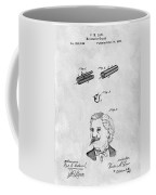 1879 Mustache Guard Patent Coffee Mug