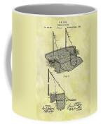 1882 Fishing Net Patent Coffee Mug