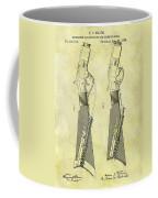 1884 Rifle Stock Patent Coffee Mug