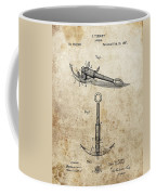 1887 Anchor Patent Coffee Mug