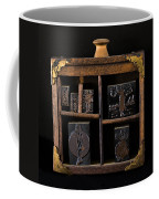 1890 Ink Stamps For Letters Coffee Mug