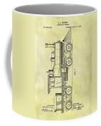 1891 Locomotive Patent Coffee Mug