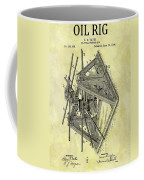 1896 Oil Rig Illustration Coffee Mug