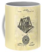 1897 Oil Rig Patent Coffee Mug