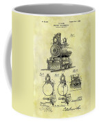 1898 Locomotive Patent Coffee Mug