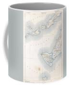 1898 Us Geological Survey Map Of Gay Head Marthas Vineyard Massachusetts Coffee Mug