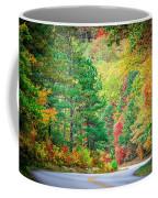 Autumn Season On Blue Ridge Parkway Coffee Mug