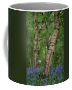 Shallow Depth Of Field Landscape Of Vibrant Bluebell Woods In Sp Coffee Mug